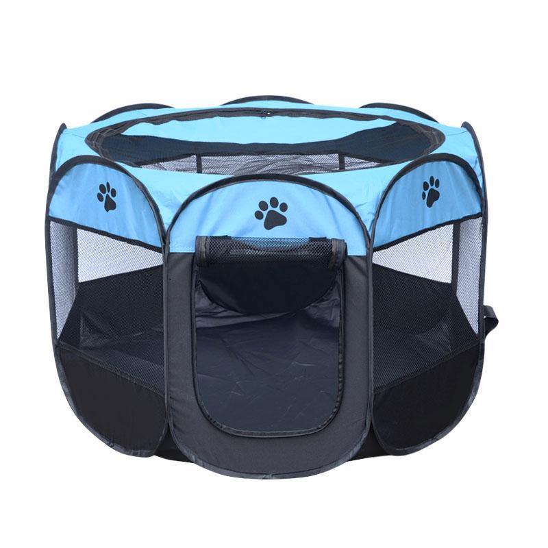 Portatil-Plegable-tienda-de-mascotas-Dog-House-Cage-Dog-Cat-Carpa-Playpen-P-F3M4 miniatura 19