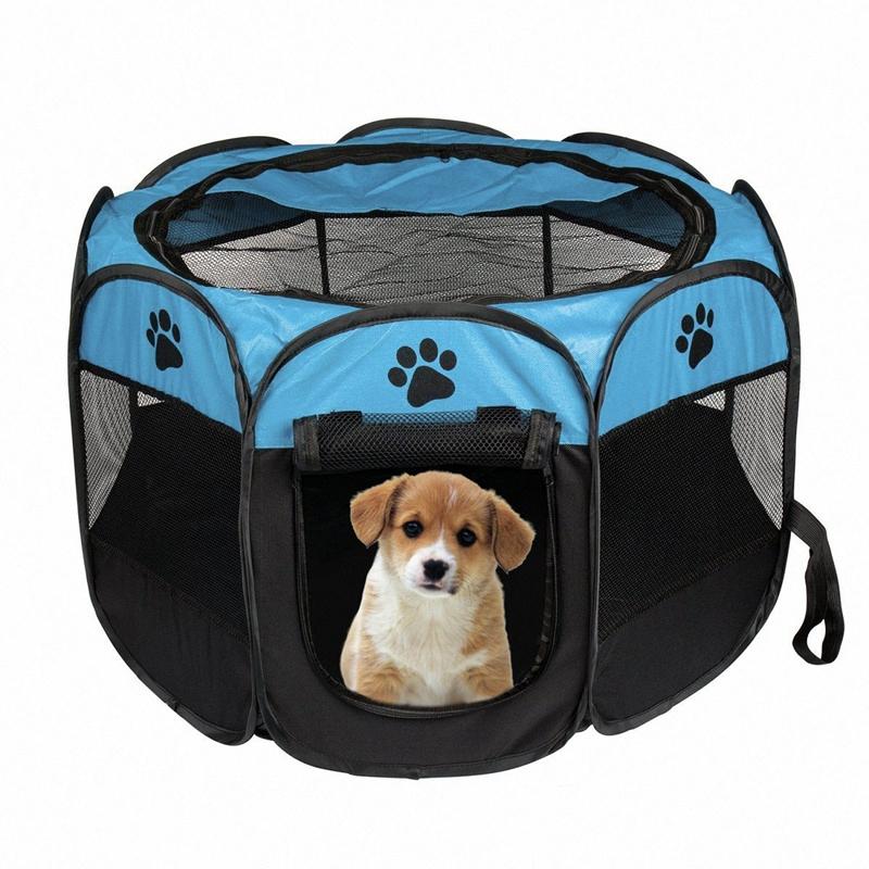 tragbares-faltbares-Zelt-der-Haustier-Haus-von-Hund-Cage-Hund-Katze-Zelt-La-M7H8 Indexbild 11