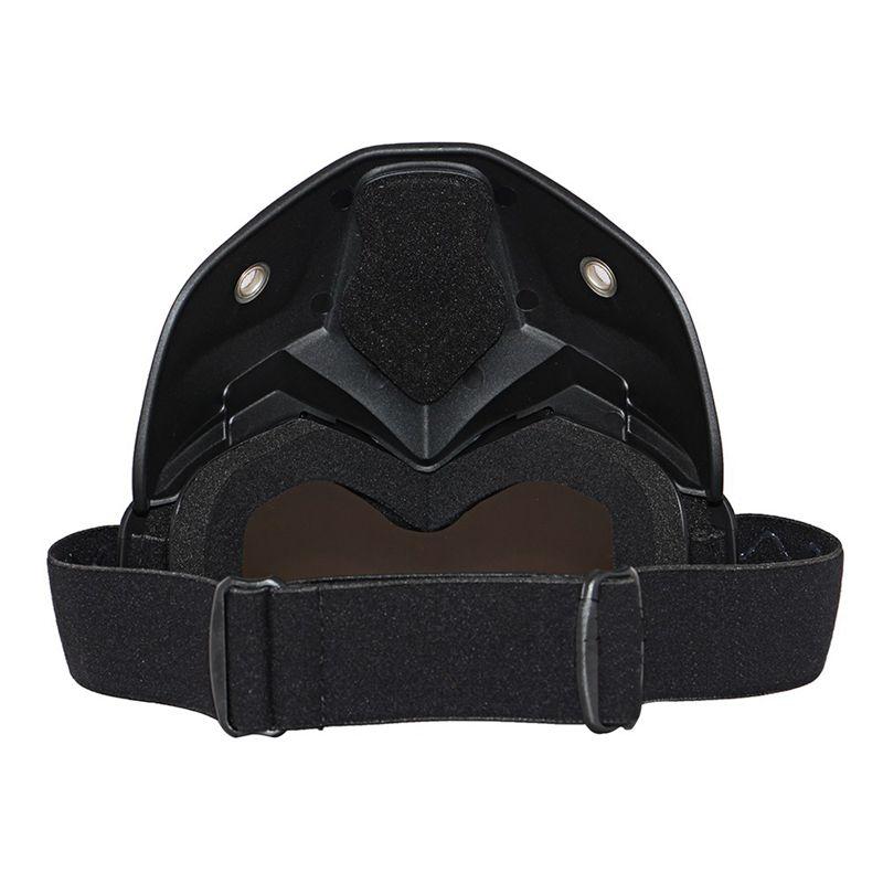 Course-d-039-autos-Modulaire-detachable-Casque-de-moto-Masque-de-protection-Boucl-58 miniature 8