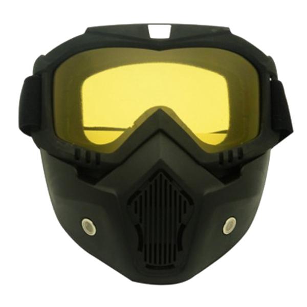 Course-d-039-autos-Modulaire-detachable-Casque-de-moto-Masque-de-protection-Boucl-58 miniature 2