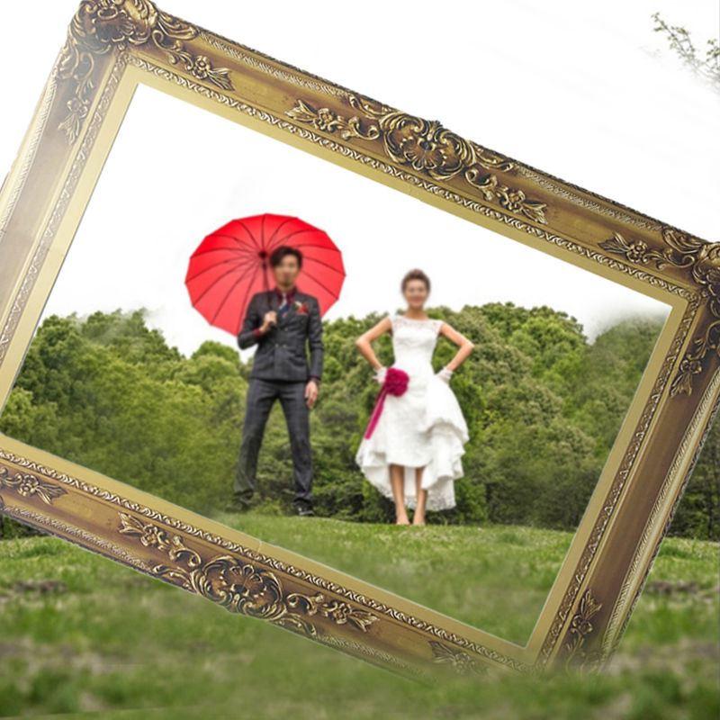 PAPIER FOTORAHMEN BOOTH Requisiten fuer Hochzeit Geburtstag ...