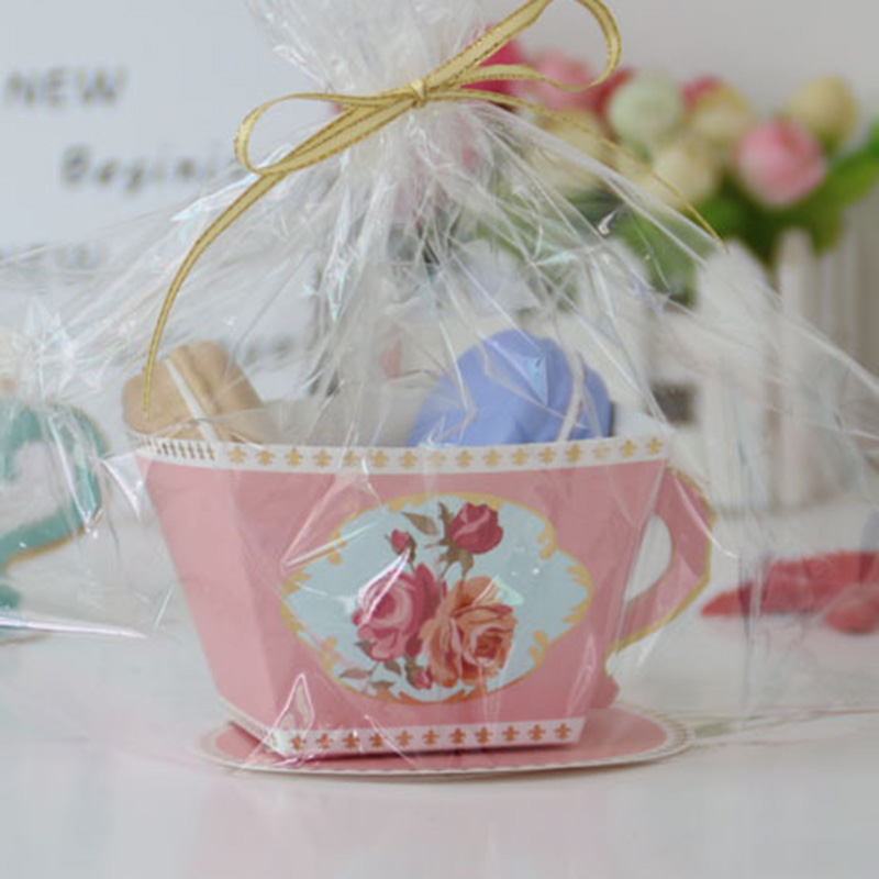 10pcs Candy Boxes Tea Party Favors Wedding Gifts For Guests Bridal