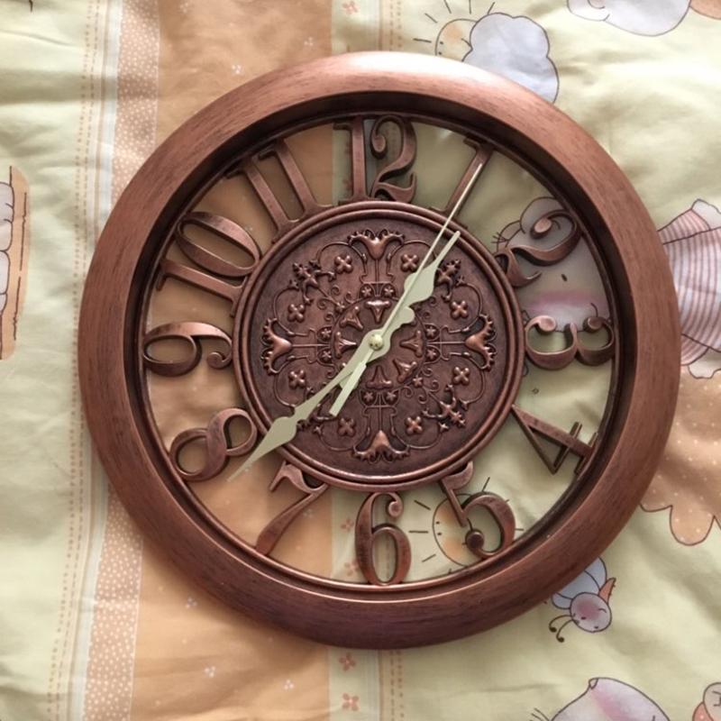 horloge-murale-horloge-saat-horloge-de-Pared-mur-Saati-vintage-horloges-mur-H5D5 miniature 5