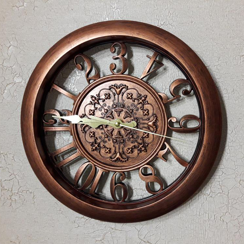 horloge-murale-horloge-saat-horloge-de-Pared-mur-Saati-vintage-horloges-mur-H5D5 miniature 6