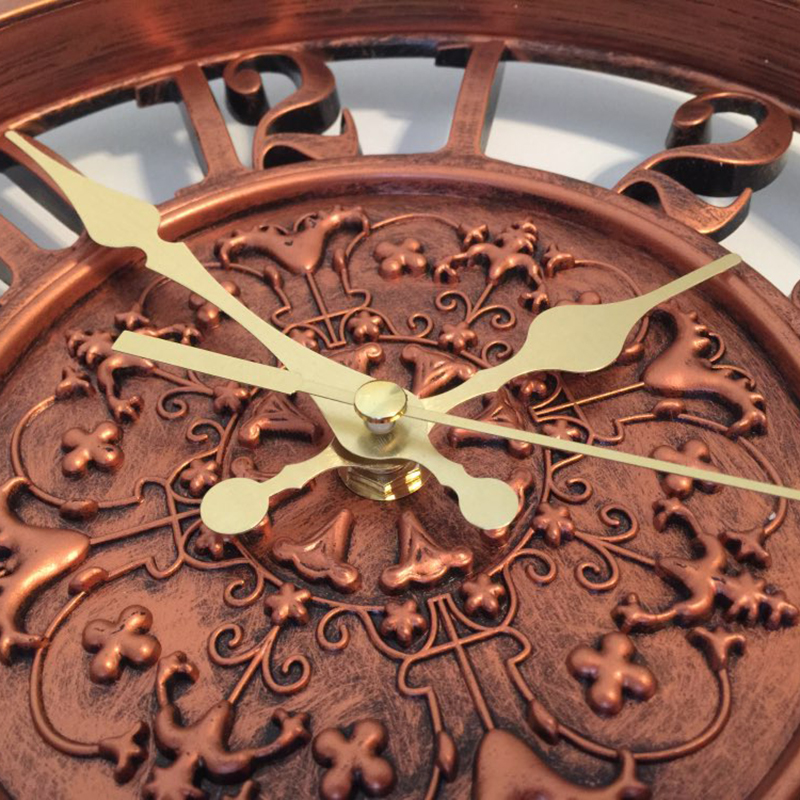 horloge-murale-horloge-saat-horloge-de-Pared-mur-Saati-vintage-horloges-mur-H5D5 miniature 9