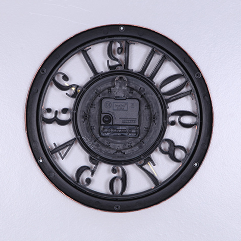 horloge-murale-horloge-saat-horloge-de-Pared-mur-Saati-vintage-horloges-mur-H5D5 miniature 12