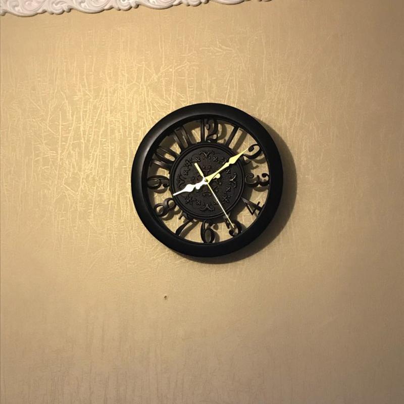 horloge-murale-horloge-saat-horloge-de-Pared-mur-Saati-vintage-horloges-mur-H5D5 miniature 15