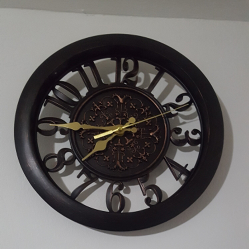 horloge-murale-horloge-saat-horloge-de-Pared-mur-Saati-vintage-horloges-mur-H5D5 miniature 16