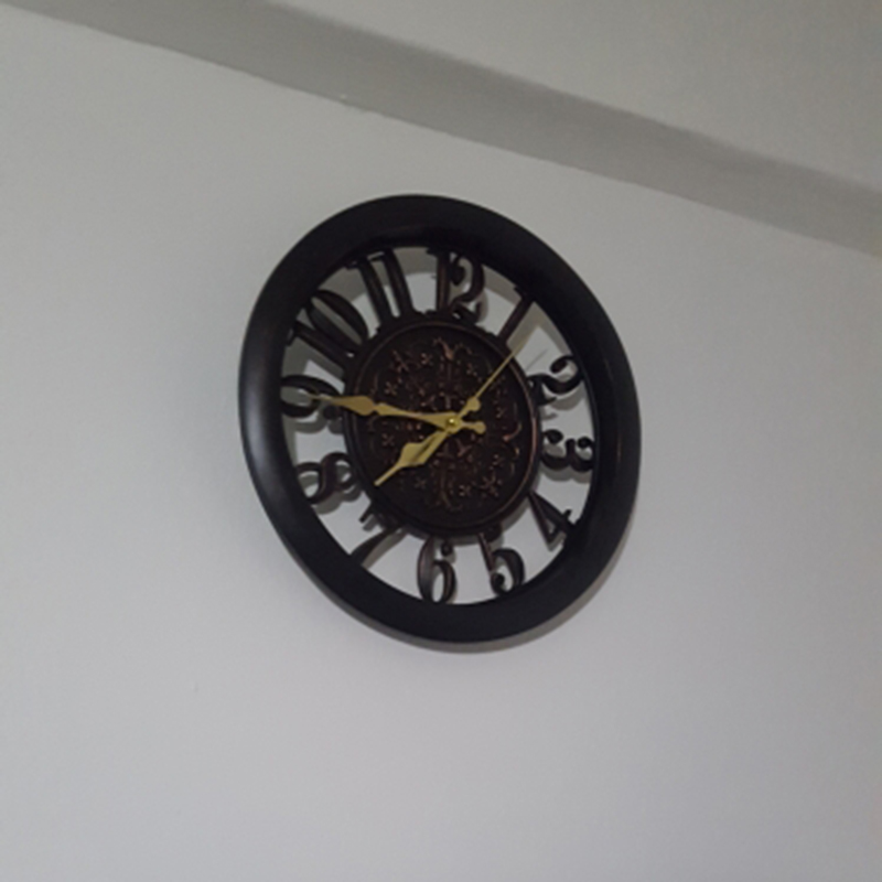 horloge-murale-horloge-saat-horloge-de-Pared-mur-Saati-vintage-horloges-mur-H5D5 miniature 17