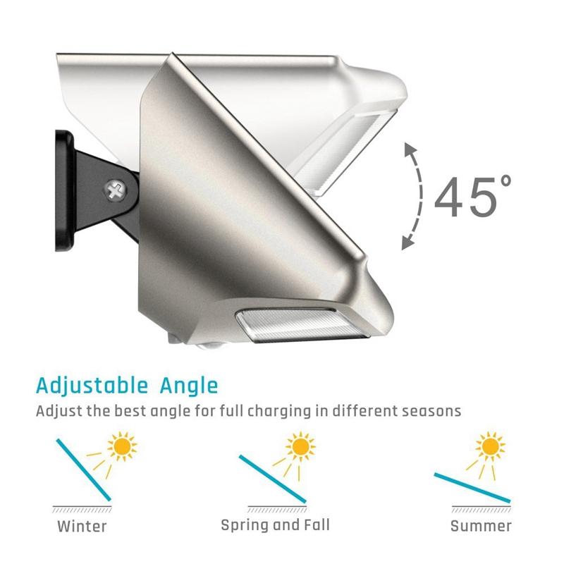 Solarleuchten Im Freien, 36 Led Helle Sensor Der Bewegung ...