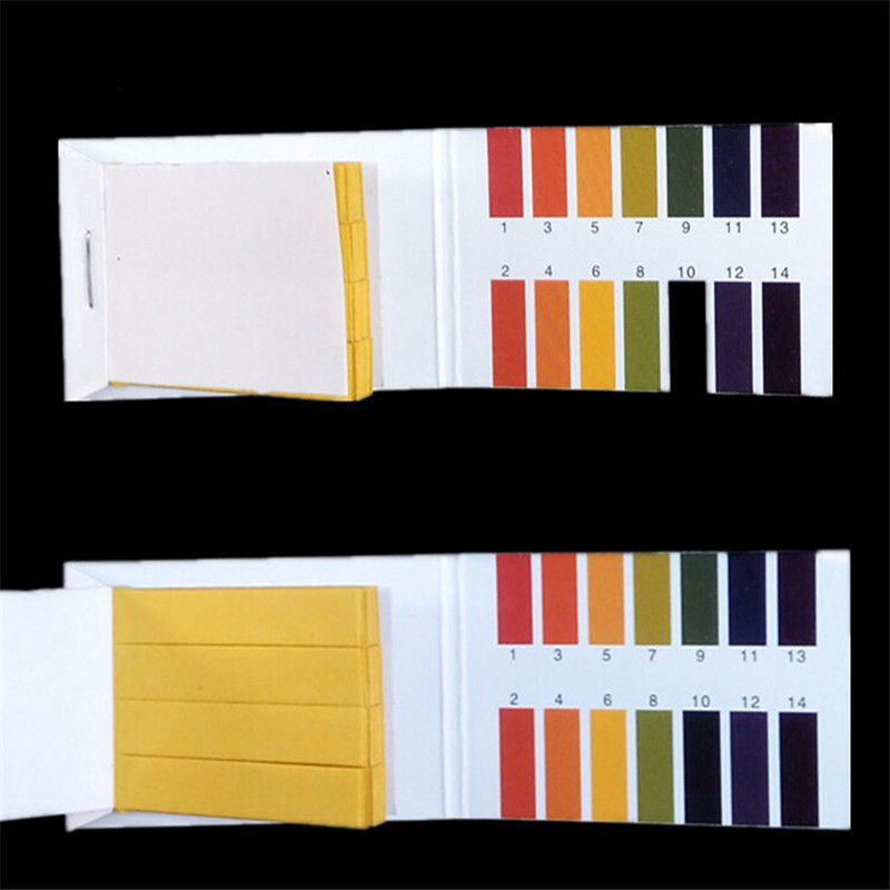 3 Set 240 Strips Professional 1 14 Ph Litmus Paper Ph Test Strips