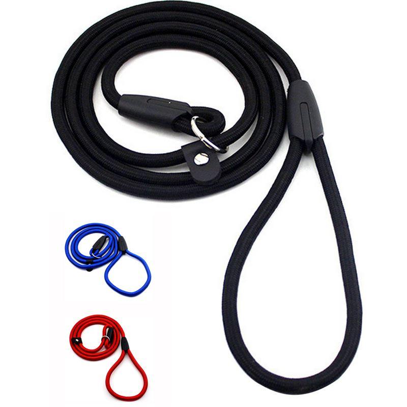 2X-Robuste-Nylon-corde-de-collier-pour-animaux-de-compagnie-Formation-de-gli-S7 miniature 3