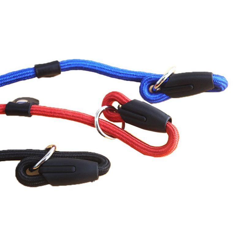 2X-Robuste-Nylon-corde-de-collier-pour-animaux-de-compagnie-Formation-de-gli-S7 miniature 4