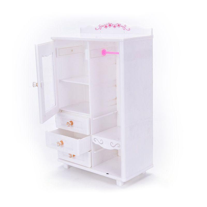 kunststoff moebel wohnzimmer kleiderschrank fuer puppenhaus miniatur zubeho v0l1 ebay. Black Bedroom Furniture Sets. Home Design Ideas