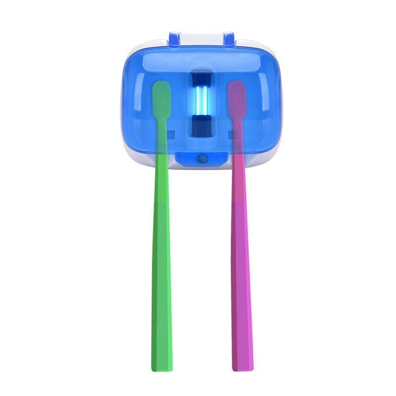 Uv Toothbrush Sanitizer Wall Mounted Toothbrush Holder