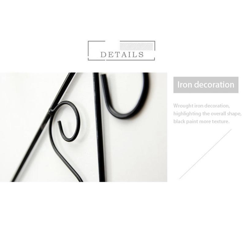 Creatif-stockage-d-039-escalier-de-support-en-bois-style-retro-etagere-a-fleurs-9L3 miniature 8