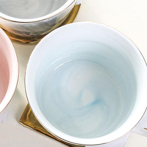 Tasses-en-ceramique-de-marbre-Couple-plaque-or-Cadeau-de-l-039-amant-Tasse-du-m-A9Y9 miniature 18