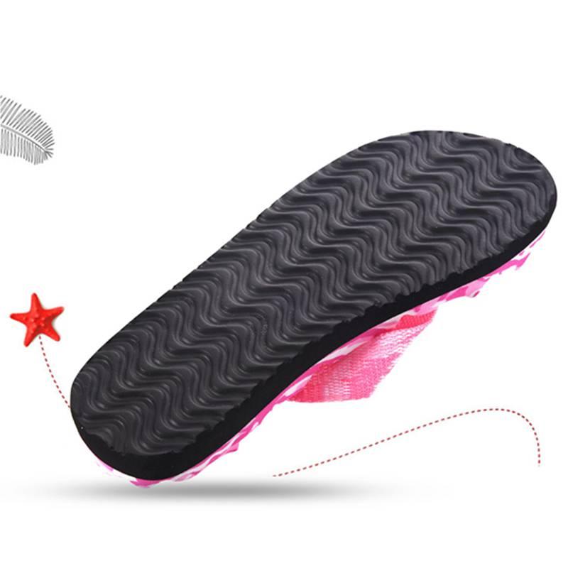 2X-Zapatillas-De-Espiga-De-Camuflaje-De-Mujer-Sandalias-De-Fondo-De-Masaje-S8G7 miniatura 17