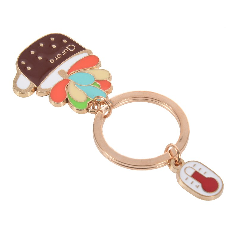 New-Cute-Potted-Plant-Cactus-Shape-Key-Ring-Keychains-Keyrings-Chain-for-Wo-N9K5 thumbnail 11