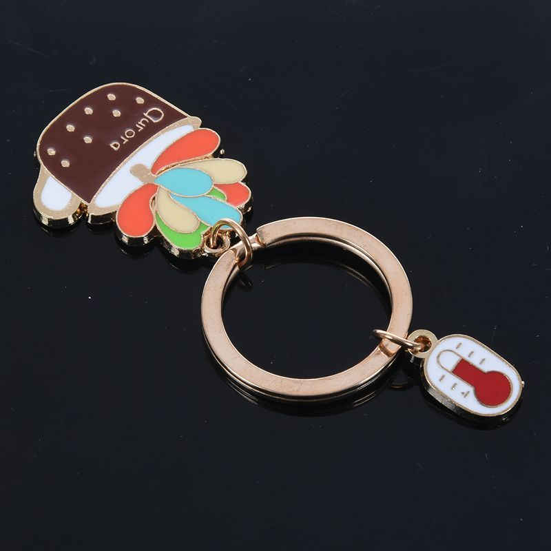 New-Cute-Potted-Plant-Cactus-Shape-Key-Ring-Keychains-Keyrings-Chain-for-Wo-N9K5 thumbnail 17