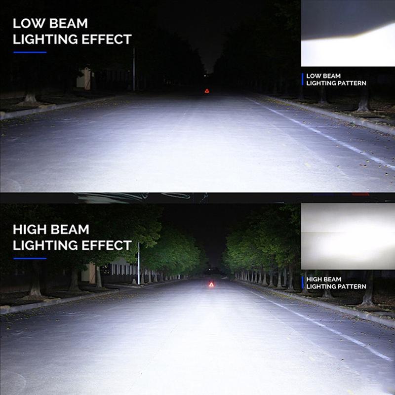 SODIAL 5W Car Bulb Auto Lamp 100-150LM DC 12V White 6000-6500K R 2x 2W T25 3157 22 LED Brake Lights Position Indicator Stop P27