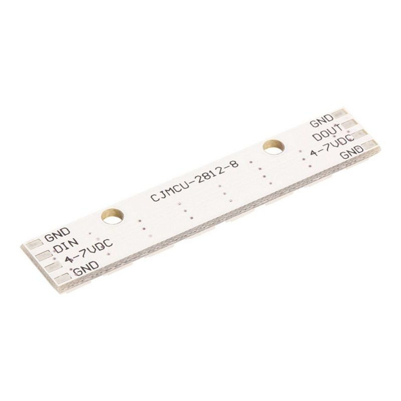 8 x WS2812B 5050 RGB Driving LED Lights Board Strip Built-in Full-Color For I3L3