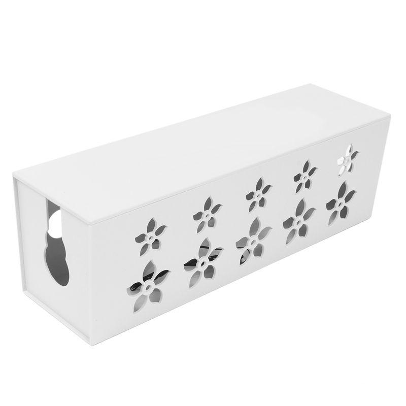 3x bo te de rangement de c ble en plastique bricolage. Black Bedroom Furniture Sets. Home Design Ideas