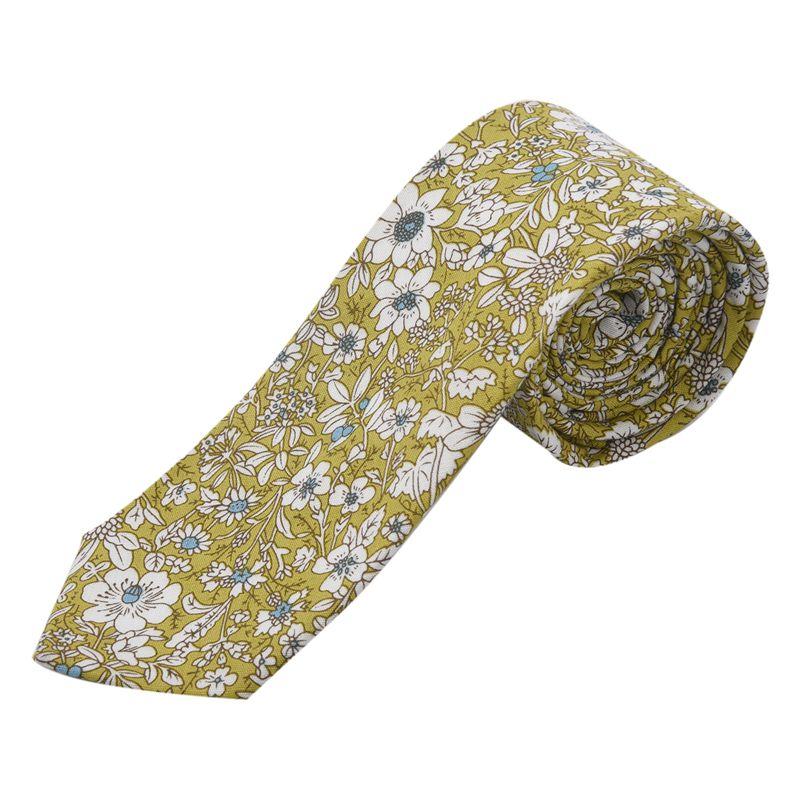 3xclassic Wedding Gifts Floral Print For Men Suit Neck Tie Cravat