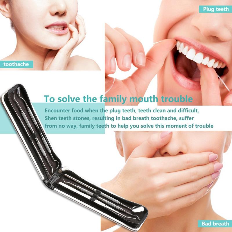 Dental-Hygiene-Kit-6-Stuecke-Dental-Werkzeuge-Essential-Calculus-amp-Plaque-E-D0U8