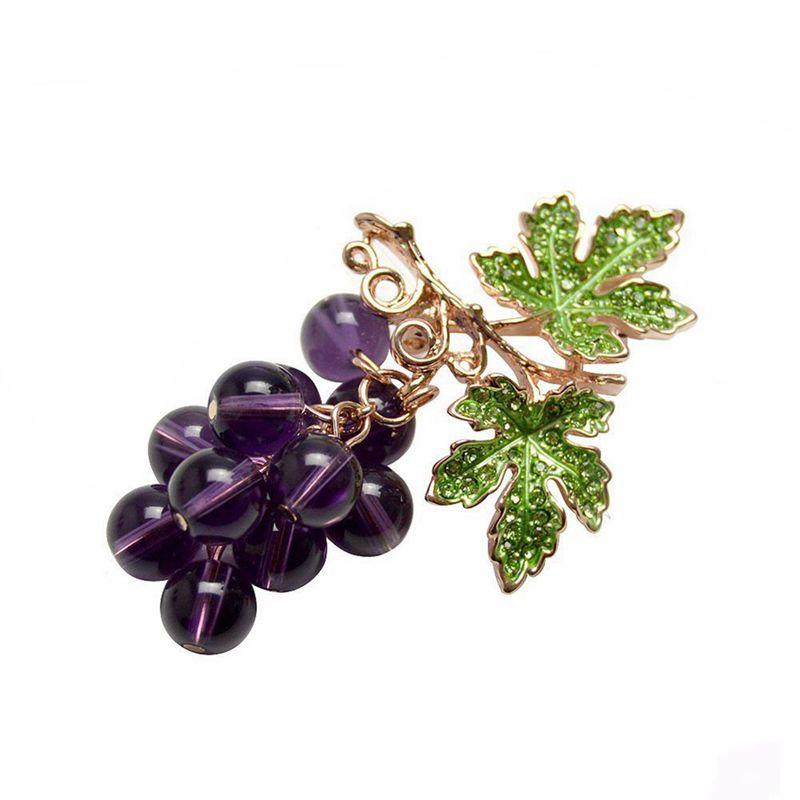 """3.94/""""Fashion black crystal rhinestone plum flower decoration brooch pins"""