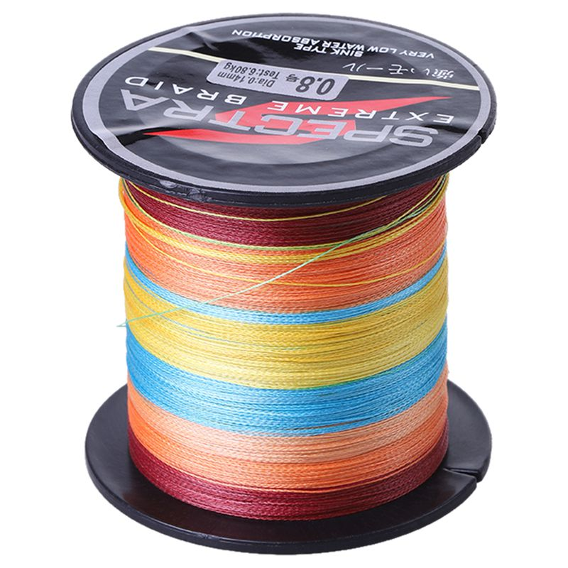 20X(100% 100m PP+PE 10b-100b Super Strong Dyneema Fishing Line A4O3)