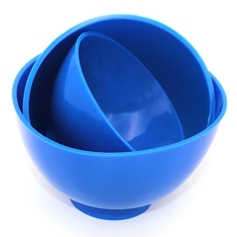 2X(3Pcs Dental Nonstick Impression Alginate Flexible Mixing Medical Bowls K7C2) 7