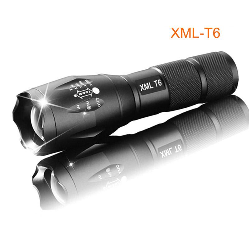 Lampe-de-poche-rechargeable-LED-lampe-torche-XML-T6-4000-lumens-18650-batter-5U1 miniature 11