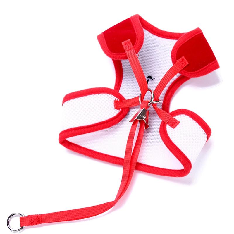 Gilet-pour-chien-Laisse-harnais-de-chien-pour-les-petits-chiens-moyens-Robe-Q2T3 miniature 19