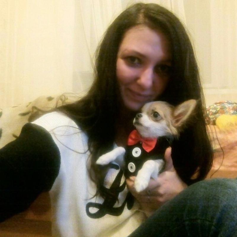 Gilet-pour-chien-Laisse-harnais-de-chien-pour-les-petits-chiens-moyens-Robe-Q2T3 miniature 23