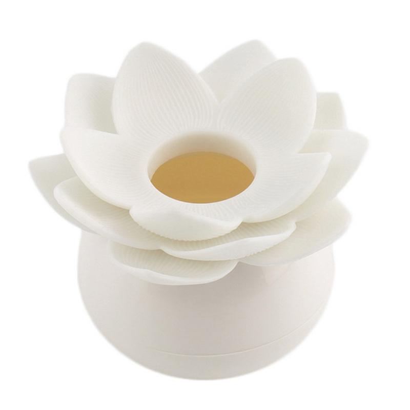 Hot-Chic-Lotus-Flower-Cotton-Bud-Holder-caja-palillo-de-dientes-caja-de-N8M7 miniatura 6