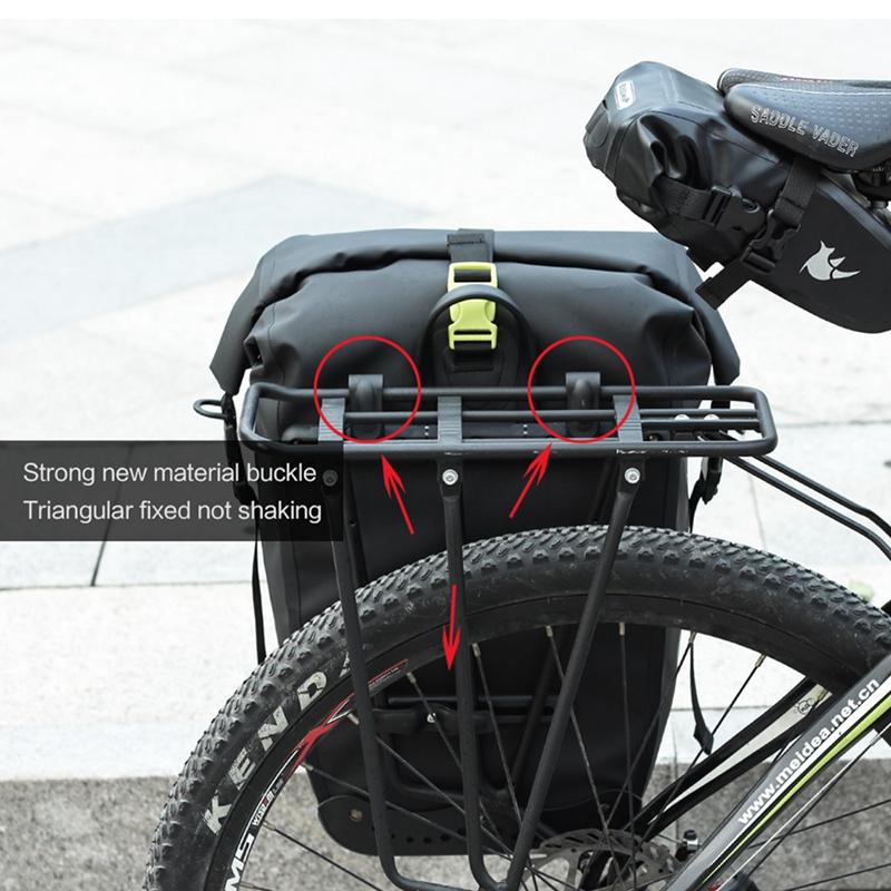 RHINOWALK-25L-Sac-de-velo-cyclisme-Sac-arriere-de-cadre-de-bicyclette-de-MTB-3K8 miniature 3