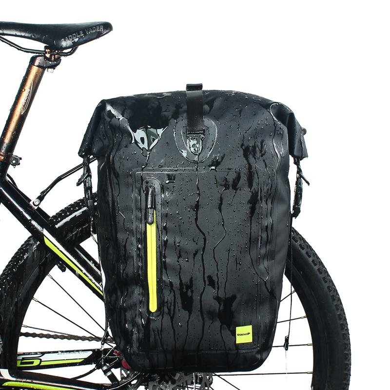RHINOWALK-25L-Sac-de-velo-cyclisme-Sac-arriere-de-cadre-de-bicyclette-de-MTB-3K8 miniature 15