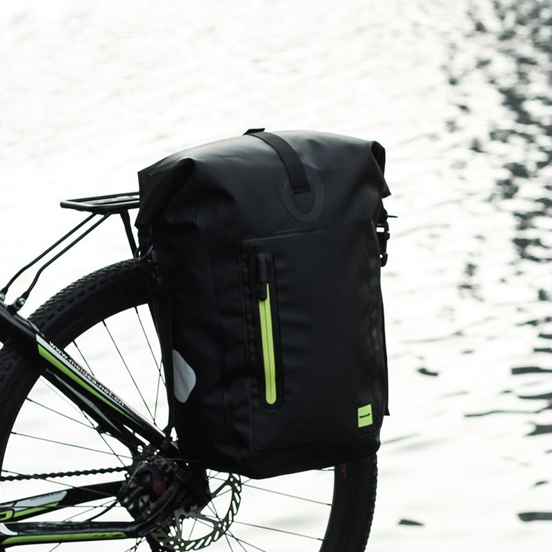 RHINOWALK-25L-Sac-de-velo-cyclisme-Sac-arriere-de-cadre-de-bicyclette-de-MTB-3K8 miniature 16