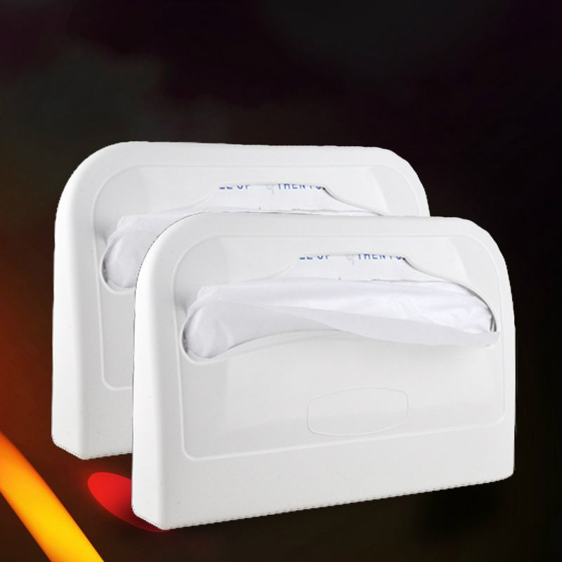 Abs Toilet Paper Holder Storage Box With Disposable Toilet
