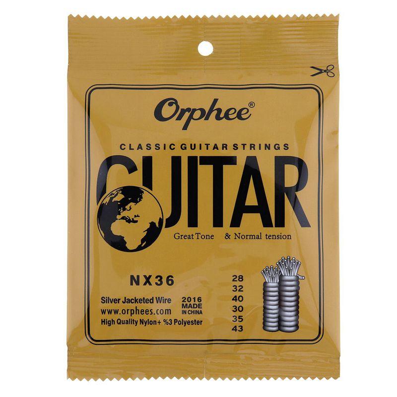 1X-Orphee-6-pcs-ensemble-Cordes-de-guitare-Corde-de-guitare-conventionnel-F2P4 miniature 5