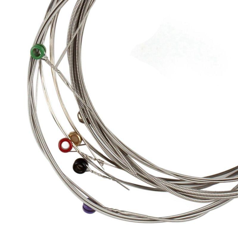 Orphee-6pcs-ensemble-Jeu-de-cordes-de-guitare-electrique-Chaine-en-alliage-30 miniature 13