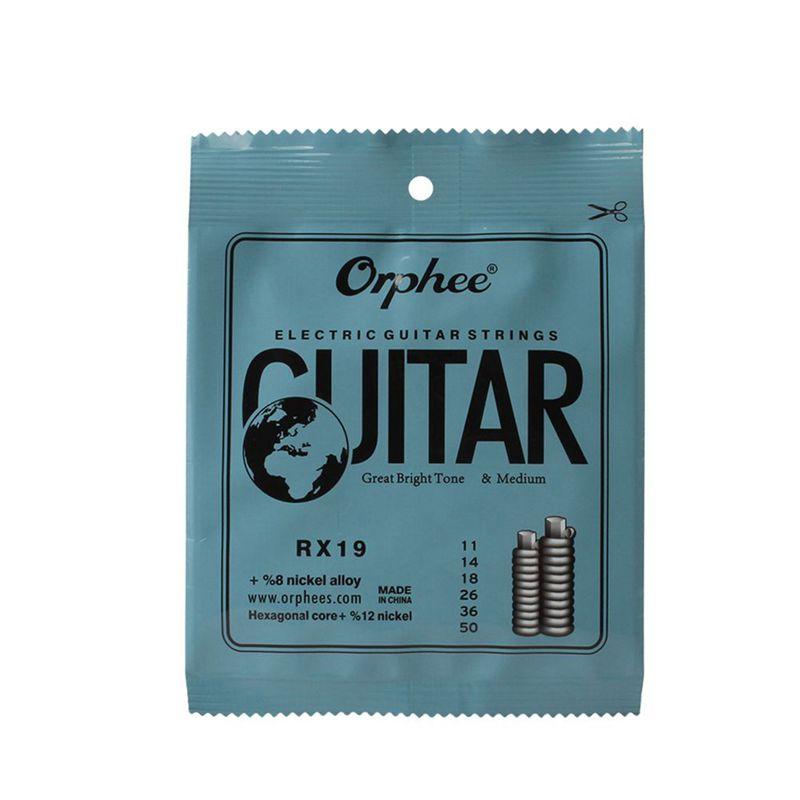 Orphee-6pcs-ensemble-Jeu-de-cordes-de-guitare-electrique-Chaine-en-alliage-30 miniature 17