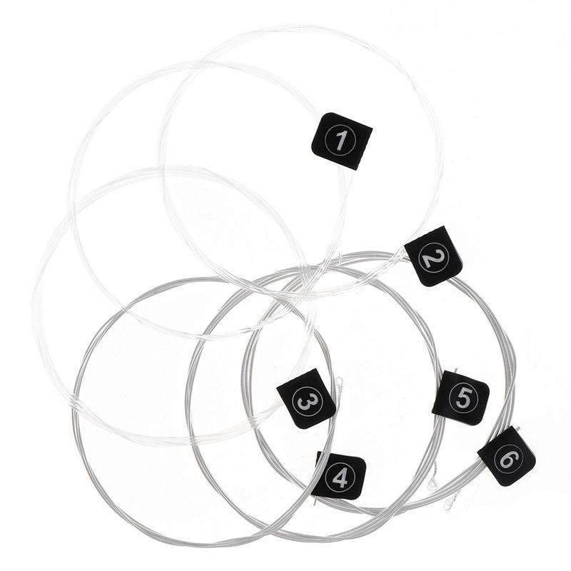 2X-Orphee-6pcs-ensemble-Jeu-de-cordes-de-guitare-electrique-Chaine-en-all-V8G8 miniature 10