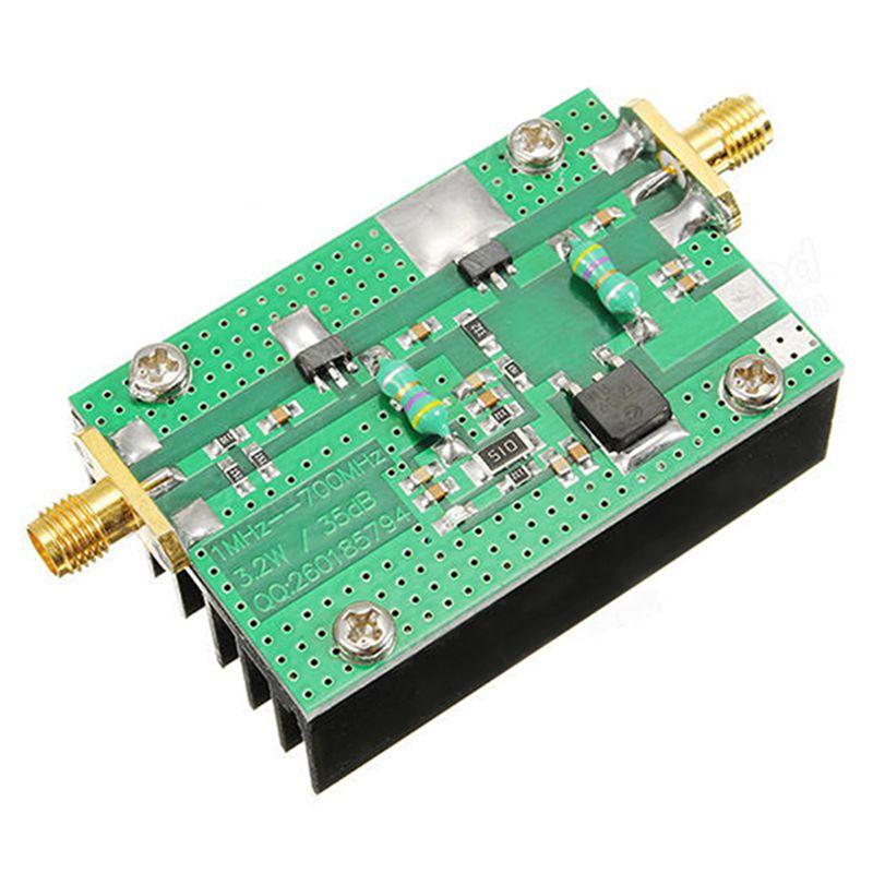 Modernistisk 1 MHZ-700 MHZ 3,2 Watt HF VHF UHF FM Sender RF FS32