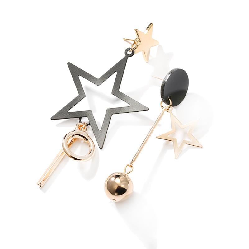 071492168767 Aretes largos de estrella de estilo AB para mujer Joyad e moda nueva ...