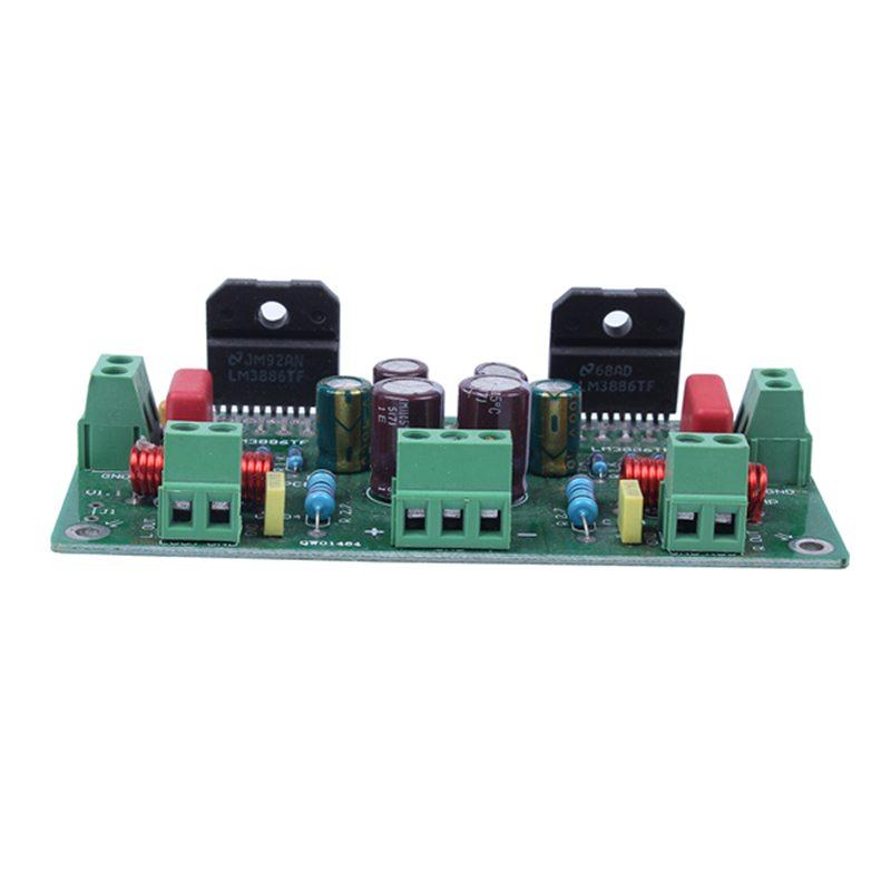 Assembled-68W-68W-Hifi-Lm3886Tf-Amplificador-Estereo-Amp-Board-50W-X-2-38-C1S1 miniatura 4