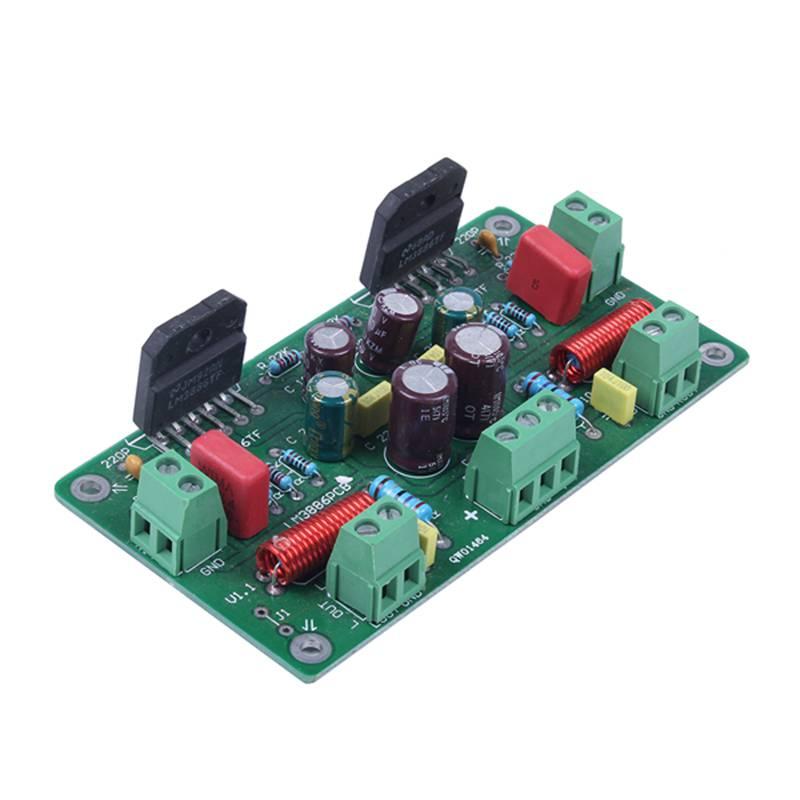 Assembled-68W-68W-Hifi-Lm3886Tf-Amplificador-Estereo-Amp-Board-50W-X-2-38-C1S1