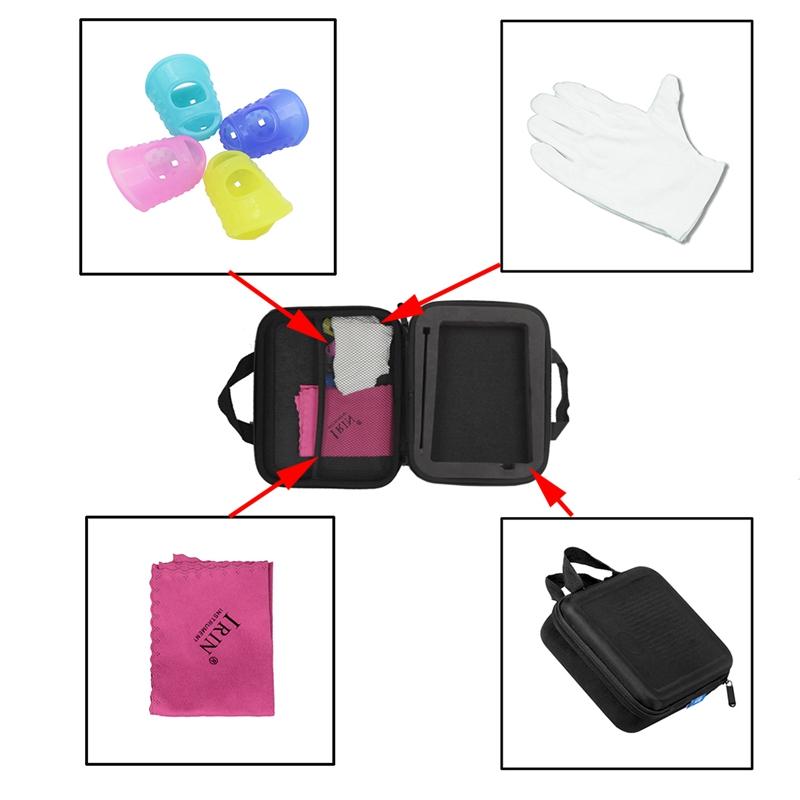 IRIN-nuevo-pulgar-bolsa-a-prueba-de-choques-Kalimba-caja-dedo-caja-silicona-4-un miniatura 7