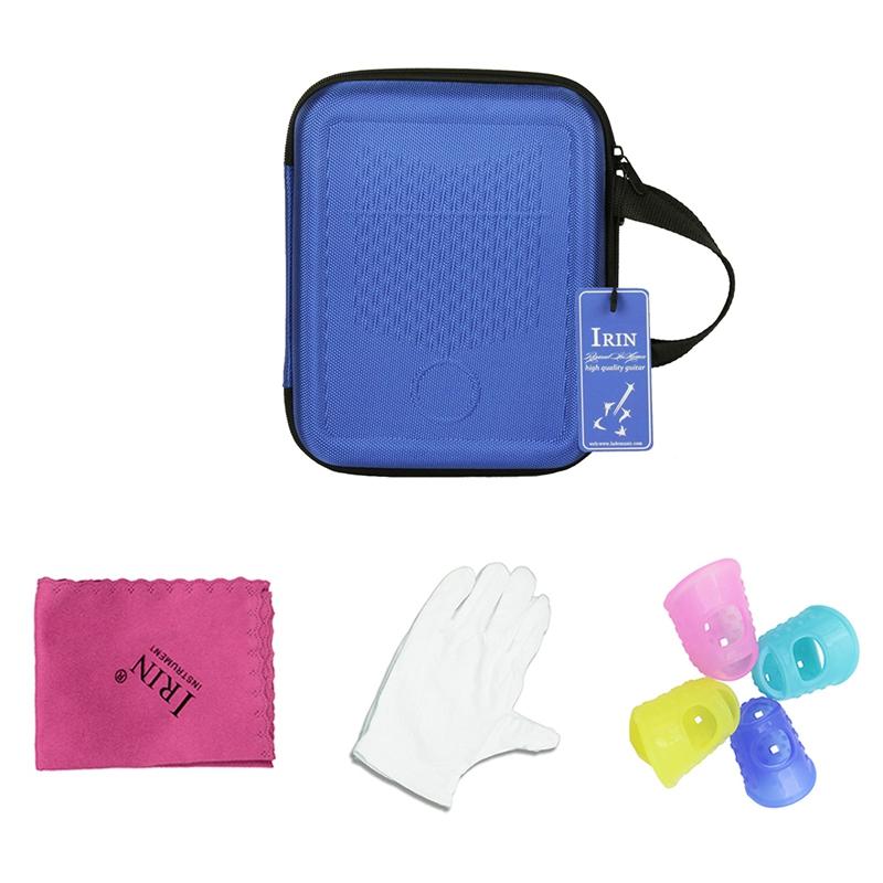IRIN-nuevo-pulgar-bolsa-a-prueba-de-choques-Kalimba-caja-dedo-caja-silicona-4-un miniatura 16